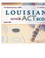 Louisiana ACT scores for the graduating class of 2006 at the school and district levels