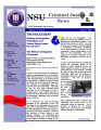 NSU criminal justice news