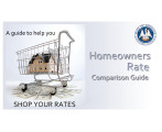 Homeowners Rate Comparison Guide