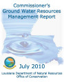 Commissioner's Ground Water Resources Management Report