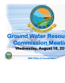 Ground Water Management Plan Meeting