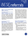 BESE referrals notices of intent and policies approved by BESE