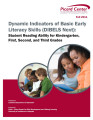 Dynamic indicators of basic early literacy skills (DIBELS) student reading ability for...