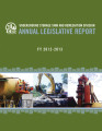 Annual legislative report for fiscal year 2012-2013