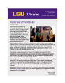 LSU Libraries News.