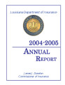 Annual report of the Commissioner of Insurance for the State of Louisiana Fiscal Year Ending June...