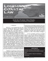 Louisiana coastal law.