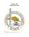 Louisiana State University at Eunice Academic Bulletin