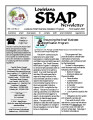 Louisiana SB/SCAP newsletter