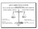 Adult correctional systems.