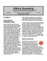Ethics quarterly : selected opinions of the Louisiana Commission on Ethics for Public Employees...