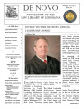De novo : the newsletter of the Law Library of Louisiana.