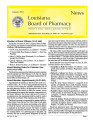 Louisiana Board of Pharmacy News