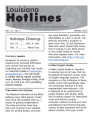 Louisiana Hotlines : A Newsletter of the State Library of Louisiana; Talking Books and Braille...